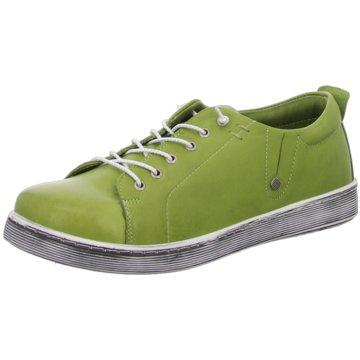 Esgano Komfort Schnürschuh grün
