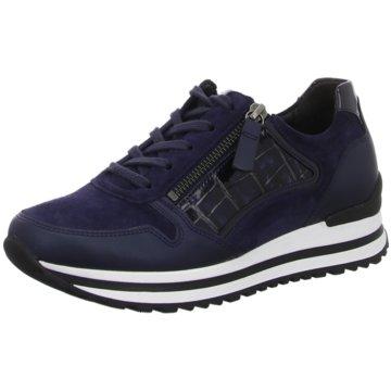 Gabor comfort Sportlicher Schnürschuh blau
