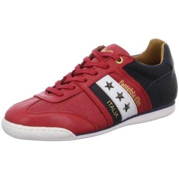 Pantofola d` Oro Sportlicher Schnürschuh rot