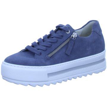 Gabor comfort Plateau SneakerSneaker blau