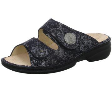 FinnComfort Komfort PantoletteSansibar schwarz
