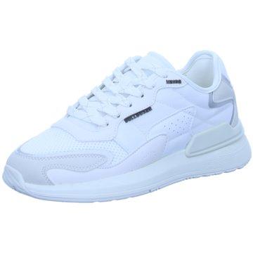 Bullboxer Sneaker Low weiß