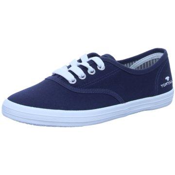 Tom Tailor Sneaker LowSneaker blau