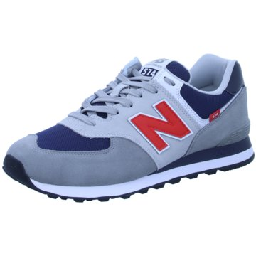 New Balance Sneaker Low574 D grau