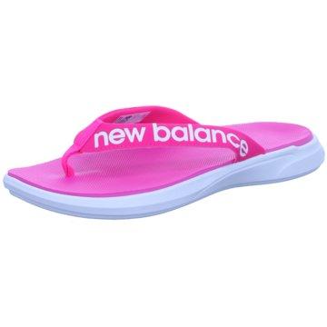 New Balance Bade-Zehentrenner rosa