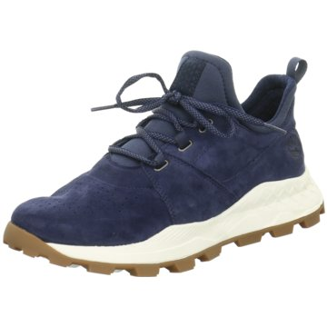 Timberland Sneaker HighBrooklyn Lace Oxford blau