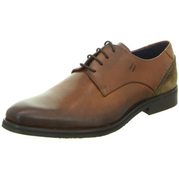 Will Lester Business Schnürschuh braun