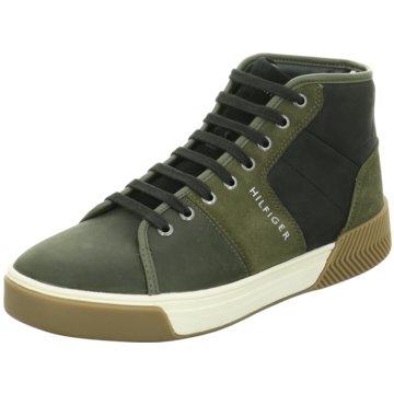 Tommy Hilfiger Sneaker High grün