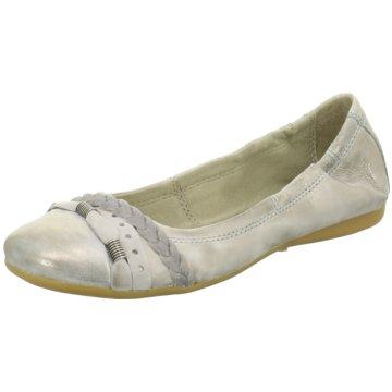 ELENA Italy Klassischer Ballerina grau