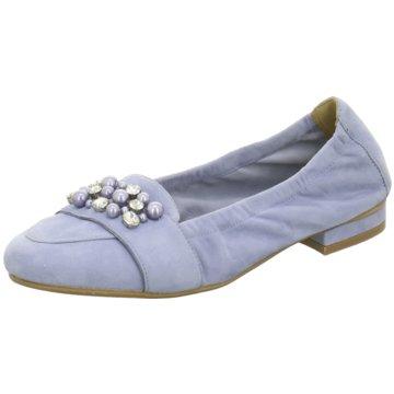 SPM Shoes & Boots Klassischer Ballerina blau