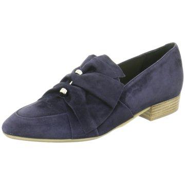 Donna Carolina Business Slipper blau