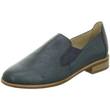 Remonte Klassischer Slipper blau