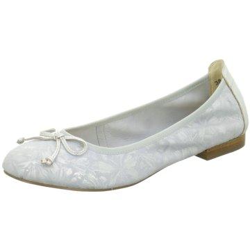 Caprice Klassischer Ballerina silber