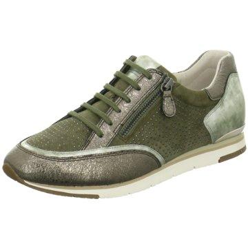 Gabor Sportlicher Schnürschuh grün