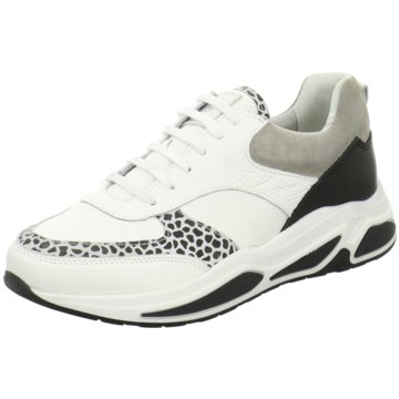 Bullboxer Plateau Sneaker weiß