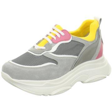 Poelman Plateau Sneaker grau
