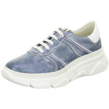 DL-Sport Plateau Sneaker blau