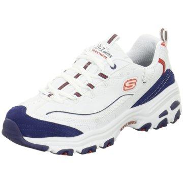 Skechers Sneaker LowD'Lites March weiß