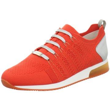 ara Sportlicher Schnürschuh orange