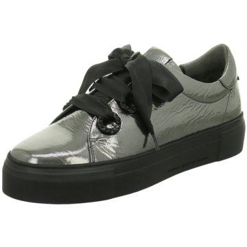 Kennel + Schmenger Plateau Sneaker silber