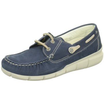 Wolky Bootsschuh1509182 blau