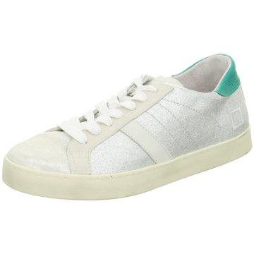 D.A.T.E. Sneaker silber