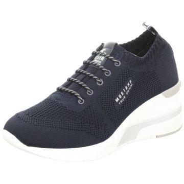 Mustang Sneaker Wedges blau