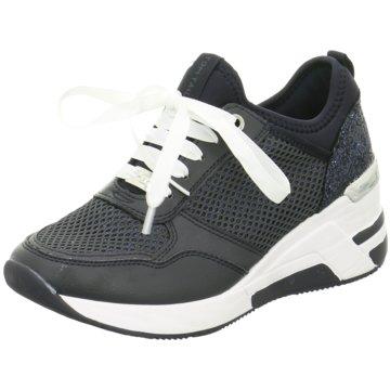 Tom Tailor Sneaker Wedges schwarz