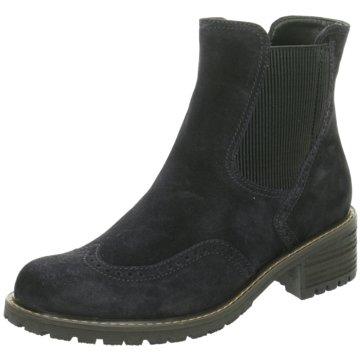 Gabor comfort Chelsea BootChelsea-Bootie blau