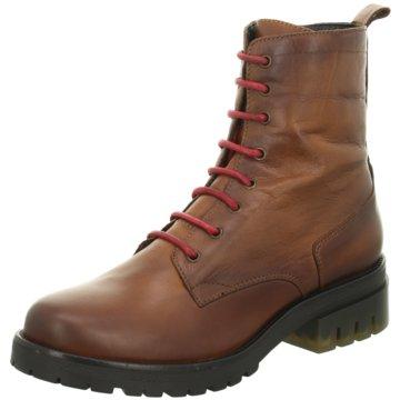 ELENA Italy Boots braun
