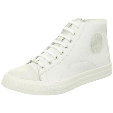 Black Sneaker High weiß