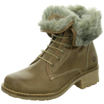 Online Shoes Schnürboot braun