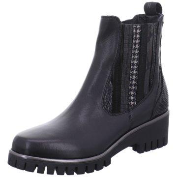 Donna Carolina Chelsea Boot schwarz
