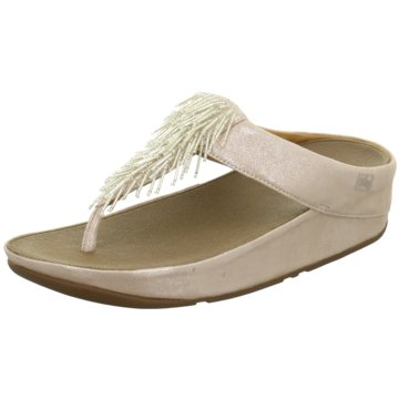 FitFlop Zehentrenner gold