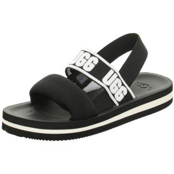 UGG Australia Sandale schwarz