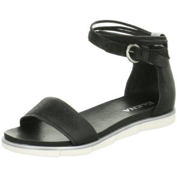Mjus Sandale schwarz