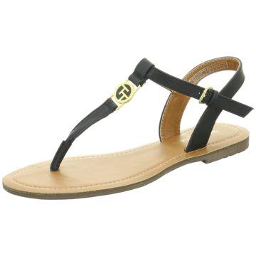 Tom Tailor Top Trends Sandaletten schwarz