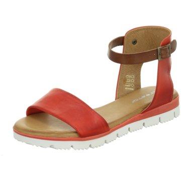 ELENA Italy Sandale rot