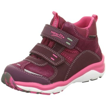 Superfit Hoher Klettschuh rosa