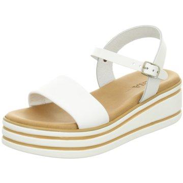 Pera Carlo Offene Schuhe weiß