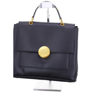 SEIDENFELT Handtasche schwarz