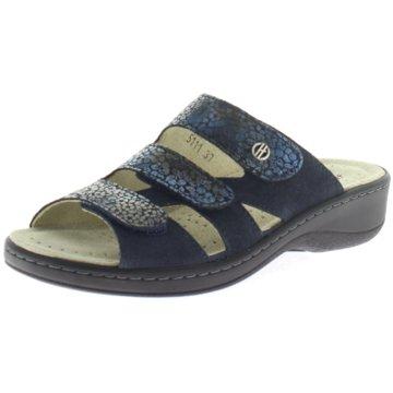 Hickersberger Komfort Pantolette blau