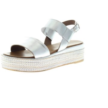 Inuovo Plateau Sandalette silber