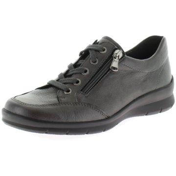 Semler Komfort Schnürschuh grau