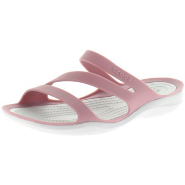 CROCS Komfort PantoletteSwiftwater Sandal W rosa