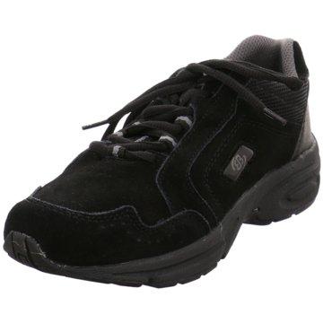 Geka Komfort Schnürschuh schwarz