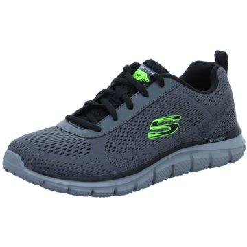 Skechers Sneaker LowTRACK - MOULTON - 232081 CCBK grau