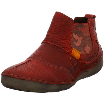 Josef Seibel Bequeme StiefelettenFlannery rot