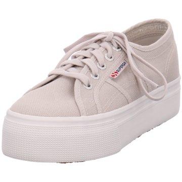 Superga Top Trends Sneaker grau