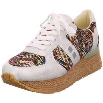 Mundart Plateau Sneaker grau